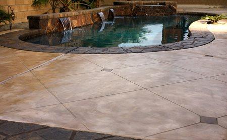 Concrete Pool Decks Designer Concrete Restoration Indio, CA