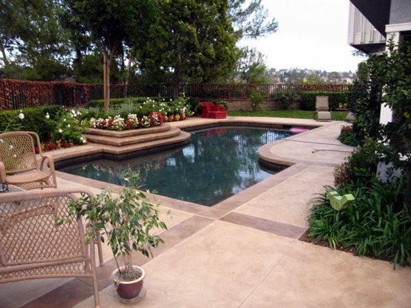 Concrete Pool Decks DuraFloor Irvine, CA