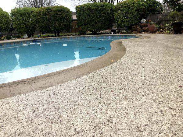 Exposed Aggregate Resurfacing Concrete Pool Decks Sundek of San Antonio San Antonio, TX