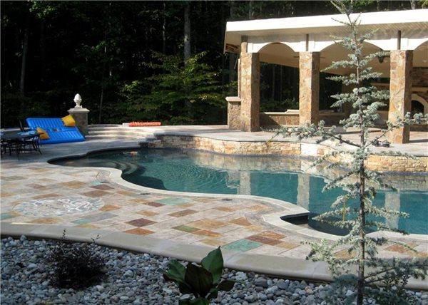 Concrete Pool Decks Greystone Masonry Inc Stafford, VA