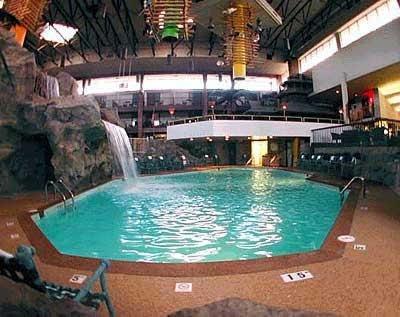 Hotel Pool, Brown Concrete Pool Decks Royal Line Resins Schillers Park, IL