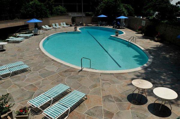 Hotel Pool Deck Concrete Pool Decks Salzano Custom Concrete Aldie, VA
