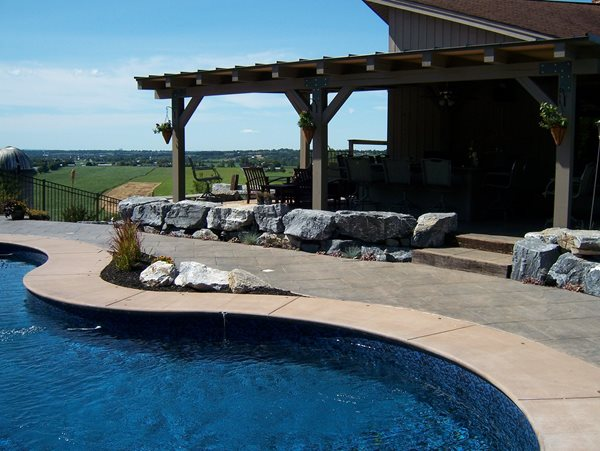 Concrete Pool Decks J.P. Havens Contracting Newmanstown, PA