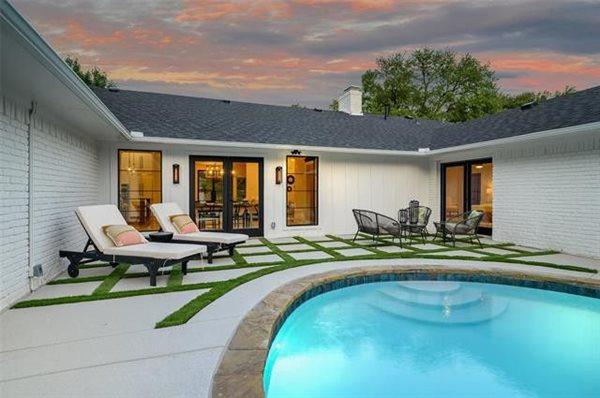 Mindful Gray, Spray Deck Concrete Pool Decks Decorative Concrete Inc Fort Worth, TX