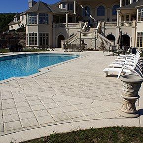 Concrete Pool Decks Patterned Concrete of PA