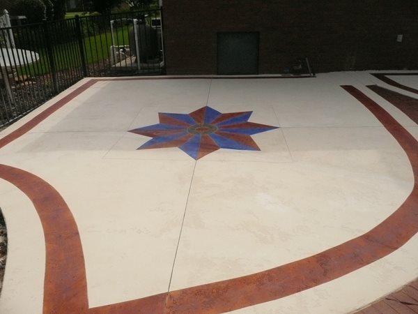 Pool Deck Microtopping Concrete Pool Decks Decorative Concrete Institute Temple, GA