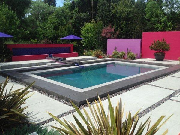 Pool Deck, Vibrant Concrete Pool Decks Concrete911 Oxnard, CA