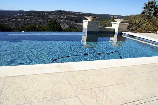 Resurfaced Pool  Deck, Sundek Classic Texture Concrete Pool Decks Sundek of San Antonio San Antonio, TX