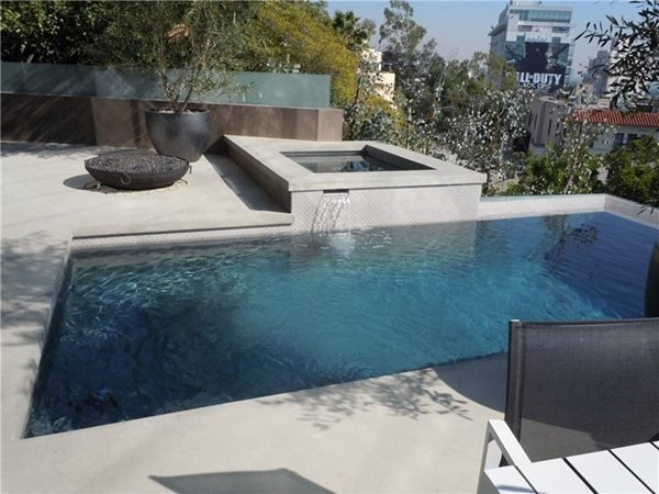 Concrete Pool Decks Ron Odell's Custom Concrete Woodland Hills, CA