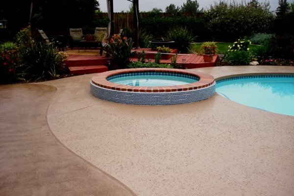 Concrete Pool Decks Staintec Rancho Cucamonga, CA