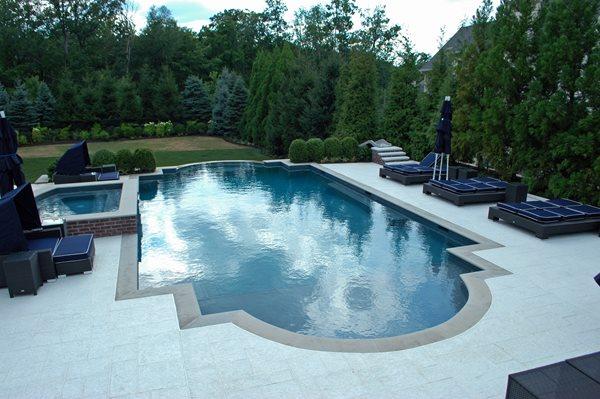Stamped Concrete Pool Deck Concrete Pool Decks Unique Concrete West Milford, NJ