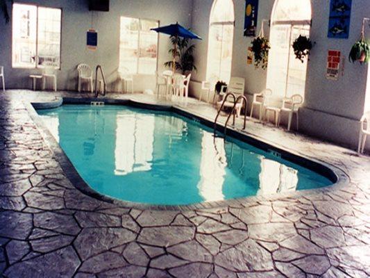 Stamped, Pool Deck, Indoor Concrete Pool Decks Worldwide Concrete Pasadena, MD