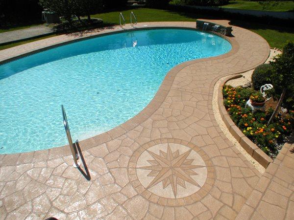 Concrete Pool Decks Unique Concrete West Milford, NJ