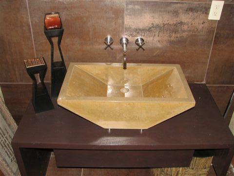 Concrete Sinks Creative Custom Concrete Concepts LLC Anacortes, WA