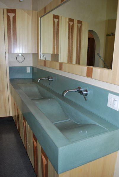 Custom Concrete Bathroom Sinks Concrete Sinks Wolcott Concrete San Luis Obispo, CA