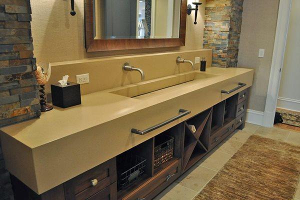 Custom Sink, Custom Vanity Concrete Sinks DEX Industries Atlanta, GA