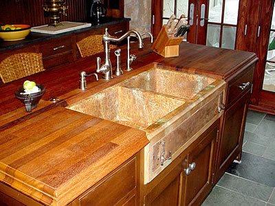 Deep, Double Sink Concrete Sinks Hollow Rock Designs Ltd Grand Portage, MN