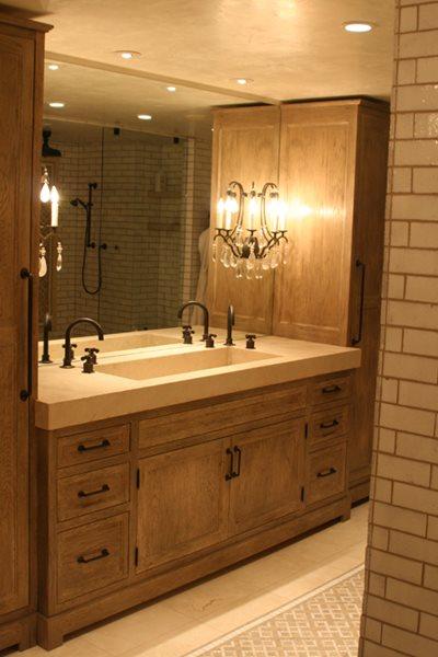 Double Sink Concrete Sinks JM Lifestyles Randolph, NJ