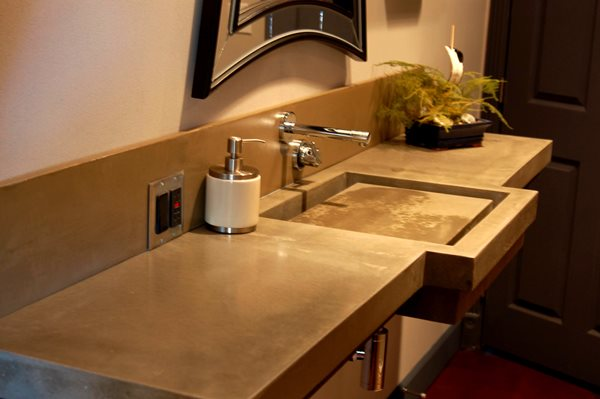 Gfrc Bathroom Sink Concrete Sinks Concrete Jungle Spicewood, TX