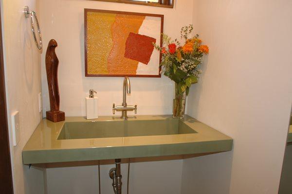 Concrete Sinks Innovative Concrete & Design Carbondale, CO