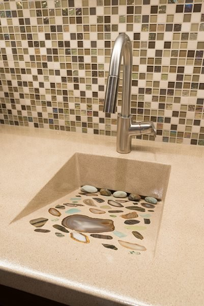 Ramp Sink, Exotic Stones Concrete Sinks Monster Constructors a div. of StoneCrete Studio Krugerville, TX