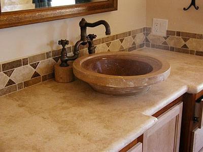 Ribbed, Bowl Concrete Sinks Concrete Craftsmen Santee, CA