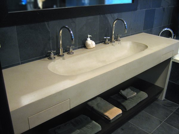 Trough, Sink Concrete Sinks Trueform Concrete Wharton, NJ