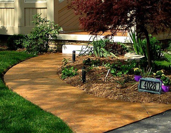 Concrete Walkways Concrete By Design LLC Sharpsburg, GA