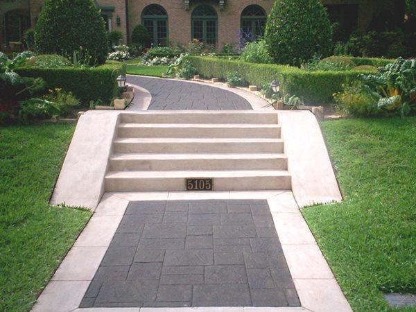 Concrete Walkways DFW Coating Concepts Dallas, TX
