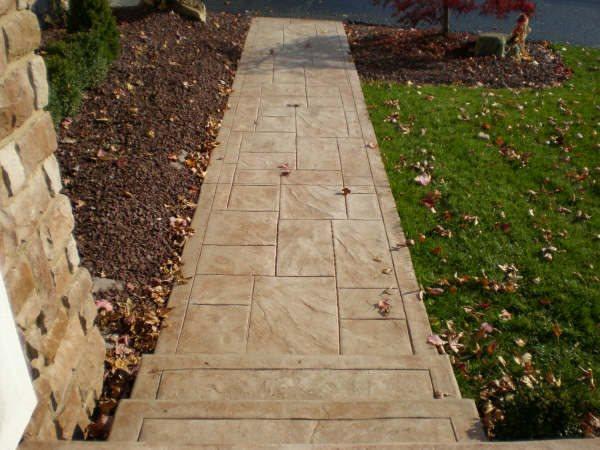 Concrete Walkways Hilton Concrete LLC Belford, NJ