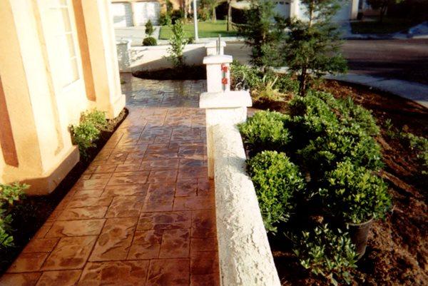 Concrete Walkways R.A. Rich Concrete, Inc. Riverside, CA