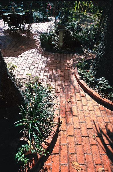 Red, Brick Concrete Walkways Superstone Inc Opa-Locka, FL