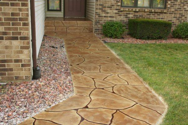 Concrete Walkways Special Effex Loves Park, IL