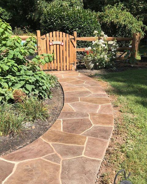 Sunstone, Walkway Coating Concrete Walkways Sundek of Washington Chantilly, VA