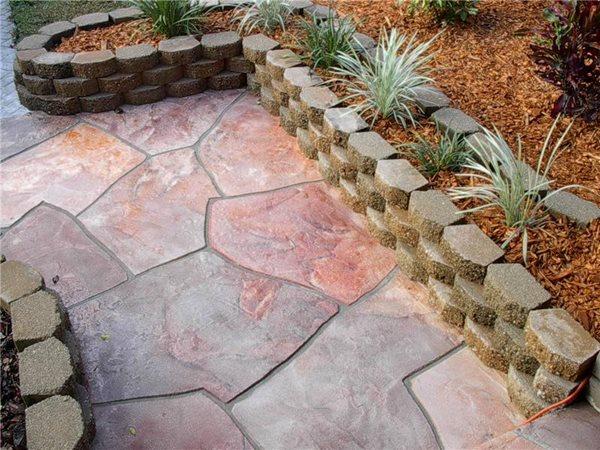 Concrete Walkways Visual Artisan, LLC Kissimmee, Fl