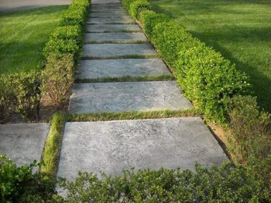 Walkway Pads Concrete Walkways 1 Man and a Toolbelt Atlanta, GA