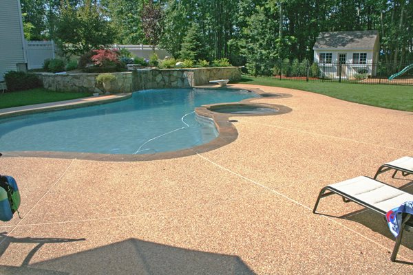 Exposed Aggregate Exposed Aggregate New England Hardscapes Inc Acton, MA