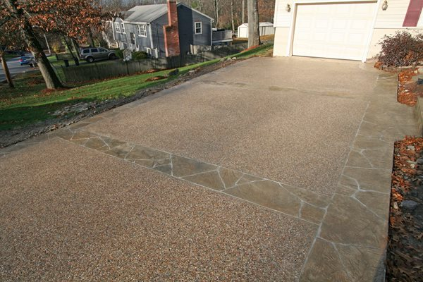 Exposed Aggregate, Sand Exposed Aggregate New England Hardscapes Inc Acton, MA