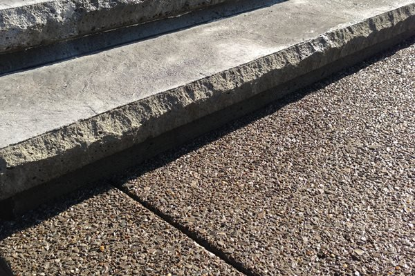 Exposed Aggregate Texture, Steps Exposed Aggregate Creative Concrete Solutions Eagleville, TN