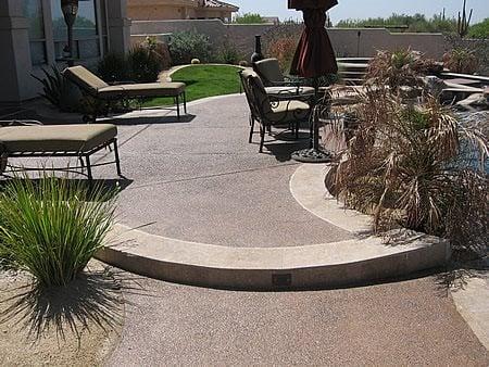 Exposed Aggregate Mastercrete Glendale, AZ