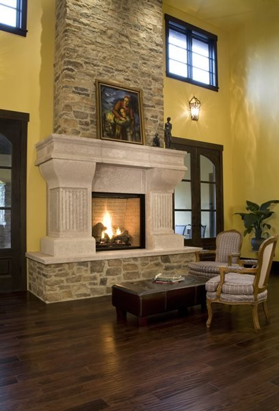 Fireplace Surrounds Absolute ConcreteWorks Port Townsend, WA