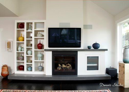 Cast Hearth, Cast Mantel Fireplace Surrounds SunWorks Decorative Concrete LLC Annville, PA