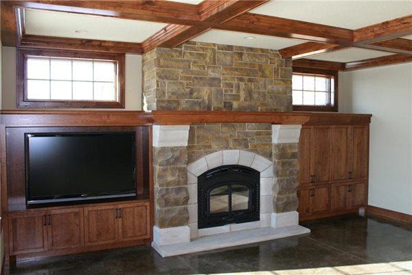 Fireplace Surrounds Concrete Arts Hudson, WI