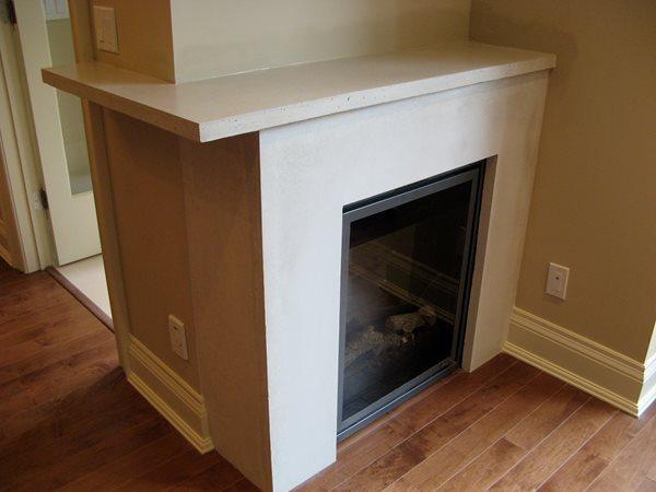 Fireplace Surrounds Concrete Elegance, Inc. Vaughan, ON