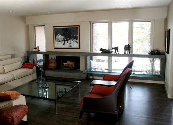 Fireplace Surrounds Concrete Innovations Ltd. Calgary, AB