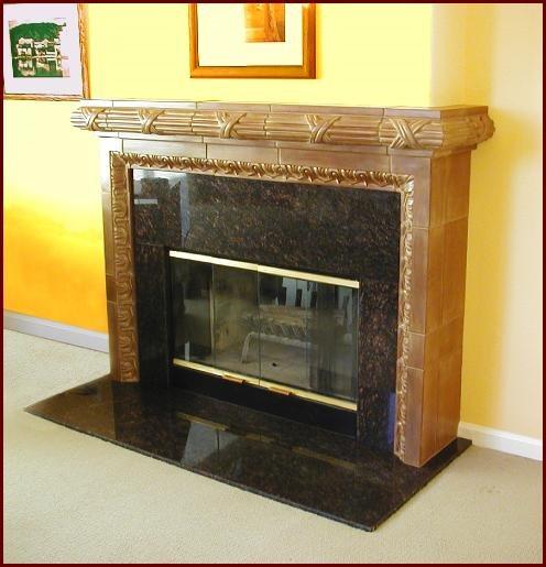 Fireplace Fireplace Surrounds Monterey Bay Cast Stone Watsonville, CA
