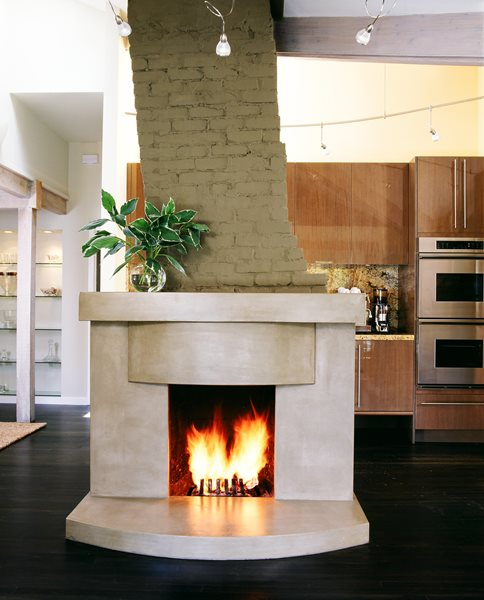 Free Standing Fireplace Surrounds Buddy Rhodes Concrete Products SF, CA