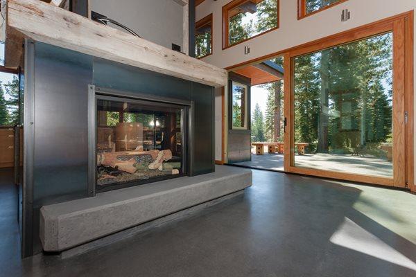 Gray Fireplace Hearth Fireplace Surrounds Evolution Industries Verdi, NV