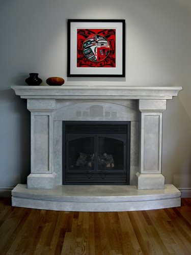 Fireplace Surrounds Grotto Design Canmore, AB