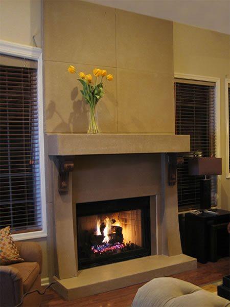 Hearth, Mantel Fireplace Surrounds Trueform Concrete Wharton, NJ